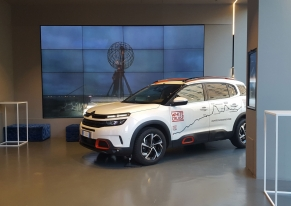 Abbiamo organizzato un Press day per Citroën per presentare l'auto White Cruise Adventure.
